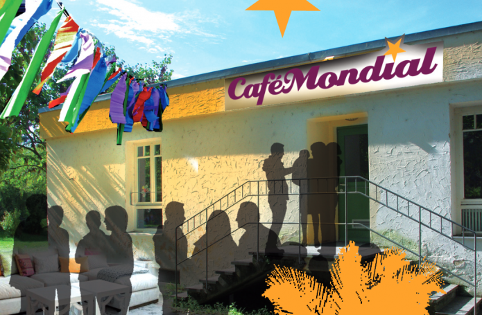 Café Mondial im Sozialgebäude des Palmenhausparks in Konstanz